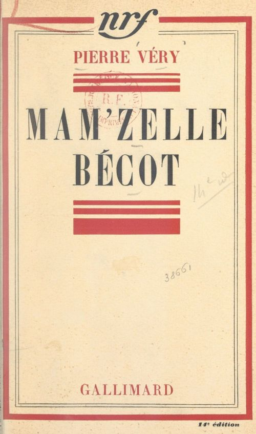 Mam'zelle Bécot  - Pierre Véry