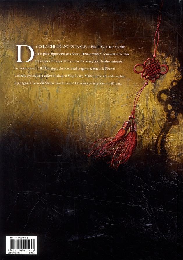 La dynastie des dragons t.1 ; la colère de Ying Long