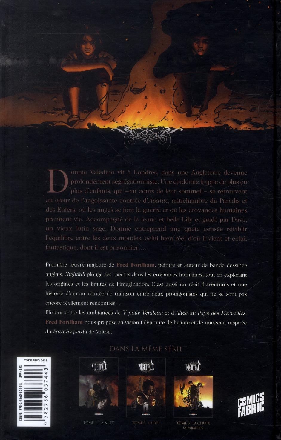 nightfall t.2 ; la foi