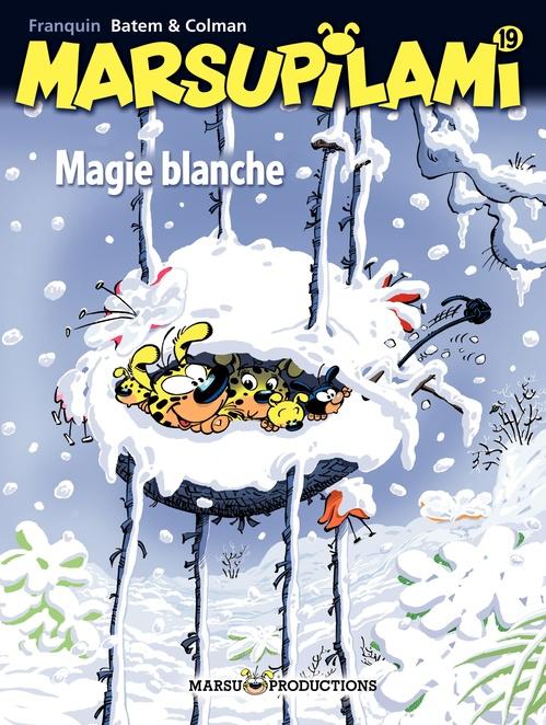 Marsupilami T.19 ; magie blanche