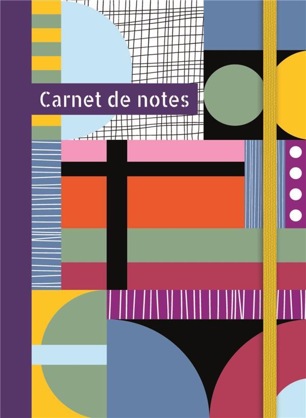 Carnet de notes (grand) ; multicolore