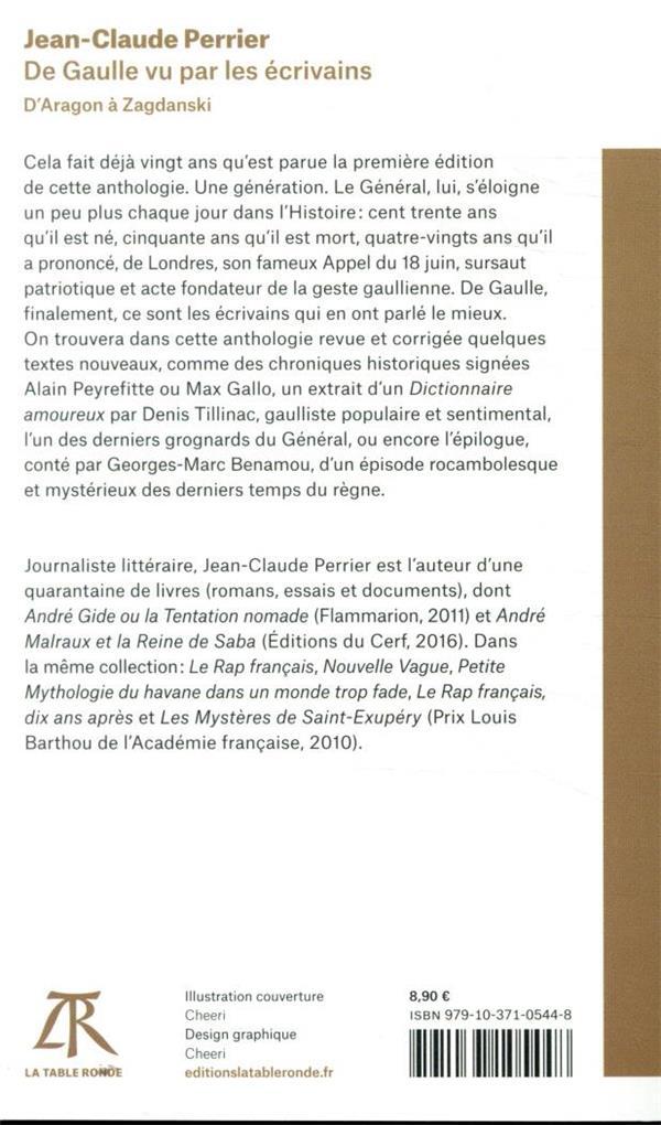 De Gaulle vu par les écrivains ; d'Aragon à Zagdanski