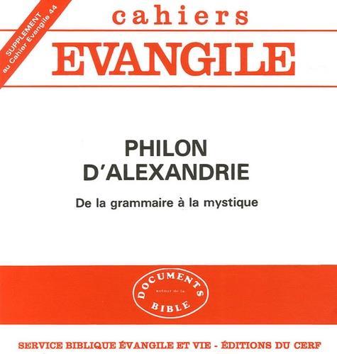 Philon d'alexandrie (j. cazeaux)  sce44