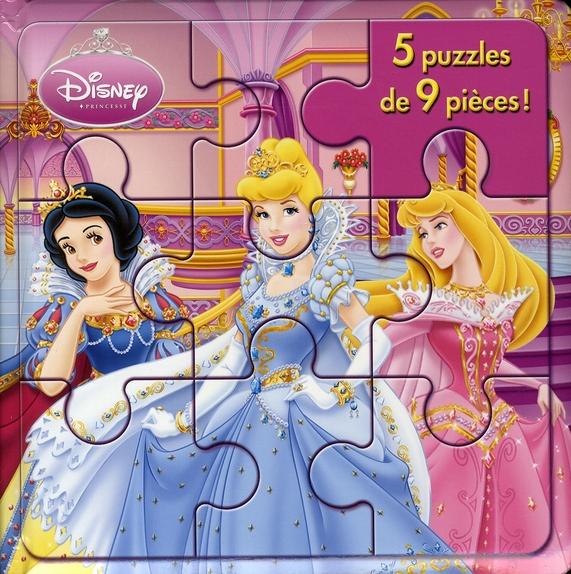 Mon Petit Livre Puzzle; Princesses