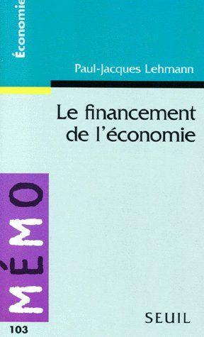 Le Financement De L'Economie