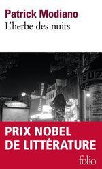Vente Livre Numérique : L'herbe des nuits  - Patrick Modiano