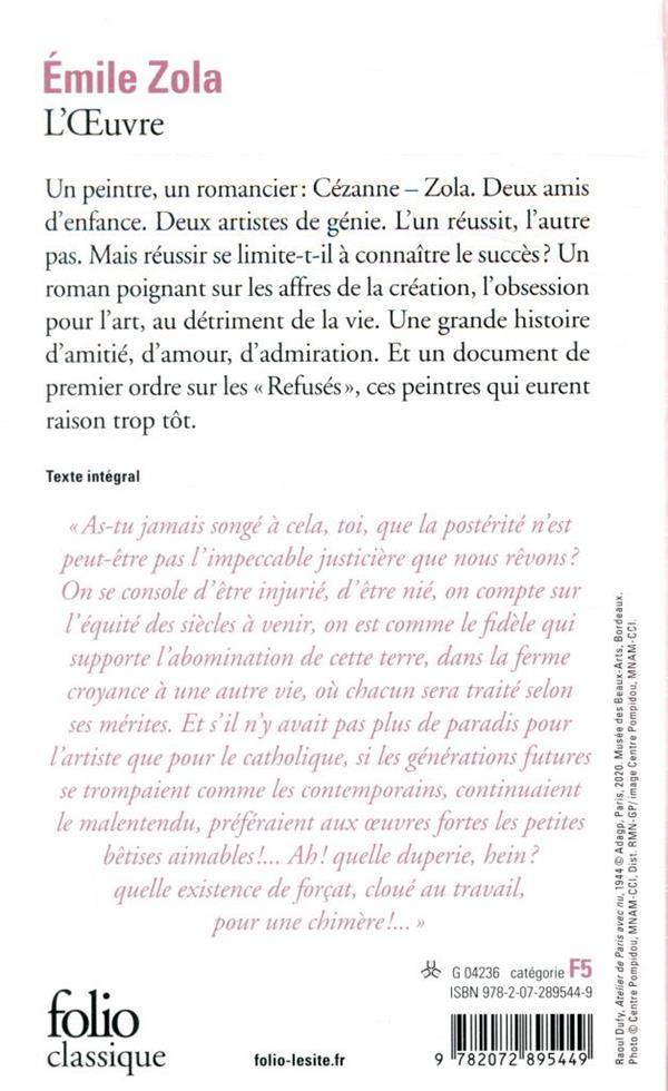 Les Rougon-Macquart, XIV ; l'oeuvre