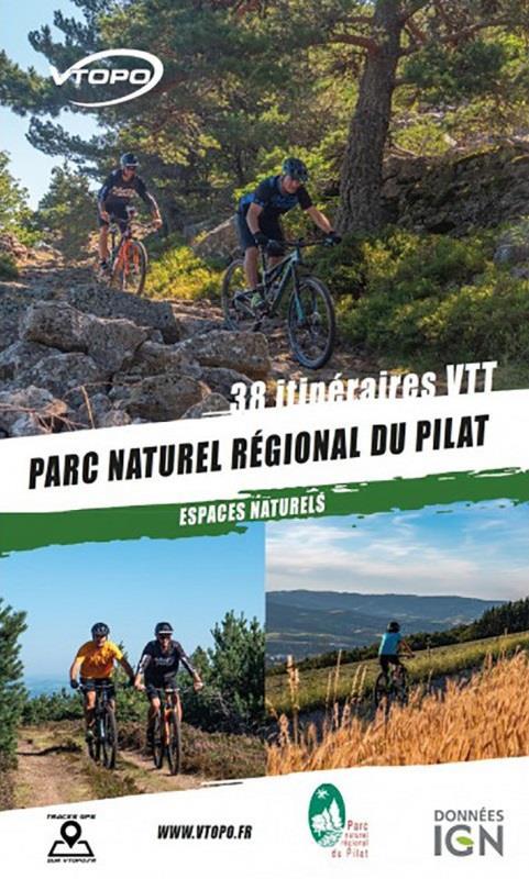 Parc naturel régional du Pilat ; espaces naturels ; 38 itinéraires VTT