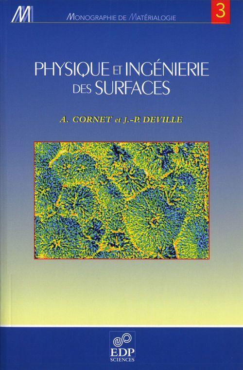 Physique et ingénieurie des surfaces