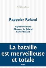 Vente EBooks : Rappeler Roland  - Frédéric Boyer