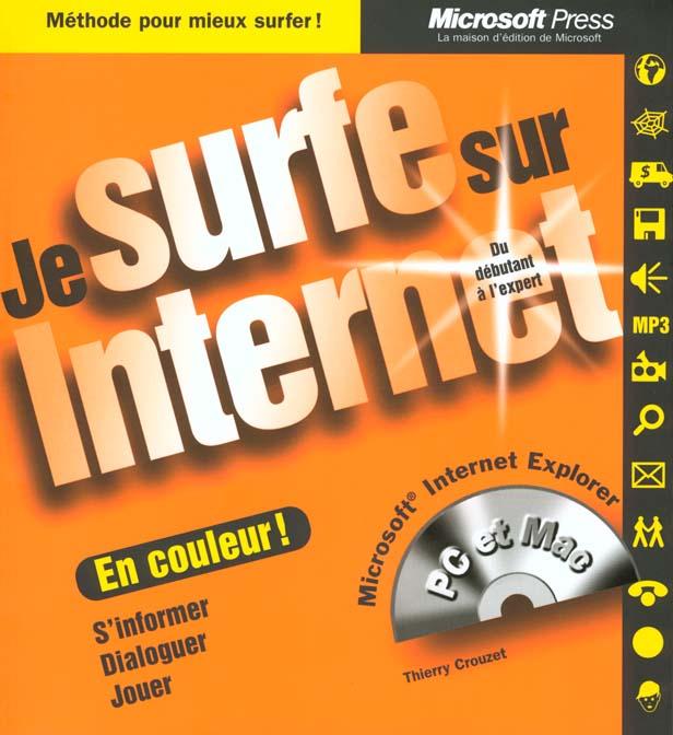 je surf sur internet
