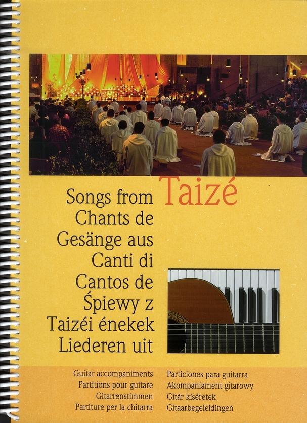 Chants de Taizé : partitions pour guitare