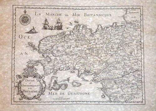 La Bretagne en 1650