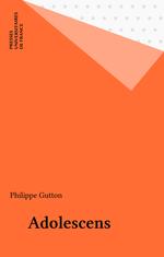 Vente Livre Numérique : Adolescens  - Philippe Gutton