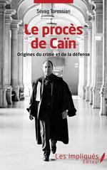 Vente EBooks : Le procès de Caïn  - Sévag Torossian