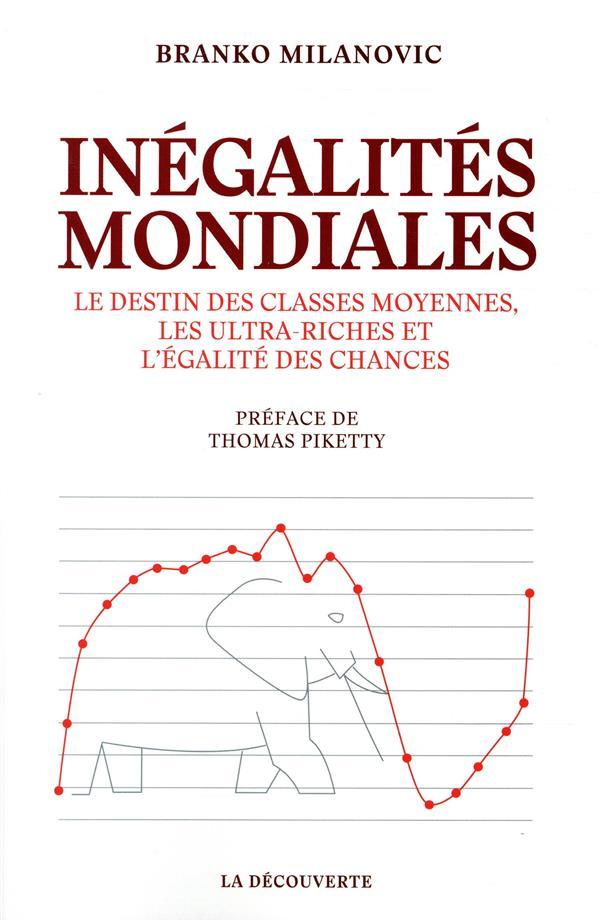 Inégalités mondiales ; le destin des classes moyennes, les ultra-riches et l'égalité des chances