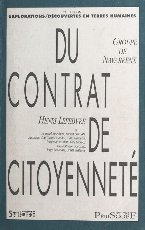 Contrat de citoyennete