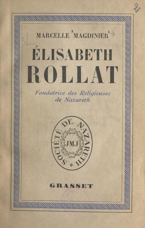 Élisabeth Rollat  - Marcelle Magdinier