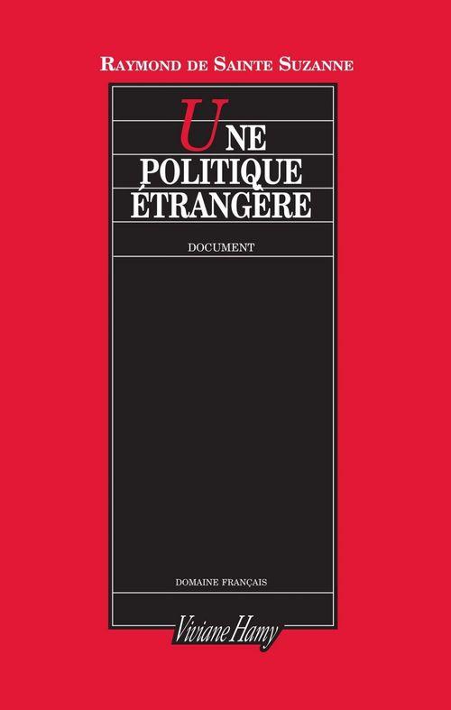 Une politique étrangère