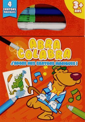 Abra colabra ; j'adore mes crayons magiques ! (ours)