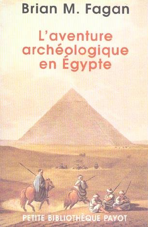 L'aventure archeologique en egypte