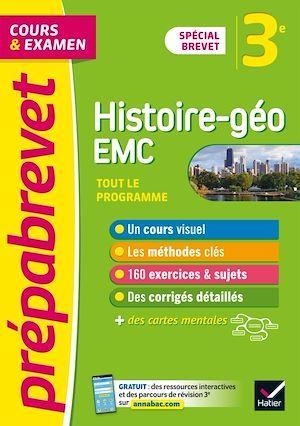 Prépabrevet cours & examen ; histoire-géographie EMC ; 3e ; brevet 2022