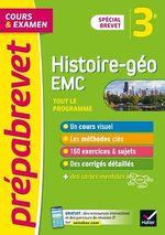 Vente Livre Numérique : Prépabrevet Histoire-Géographie EMC 3e Brevet 2022  - Marielle Chevallier - Jean-François Lecaillon - Christophe Clavel - Guillaume d' Hoop