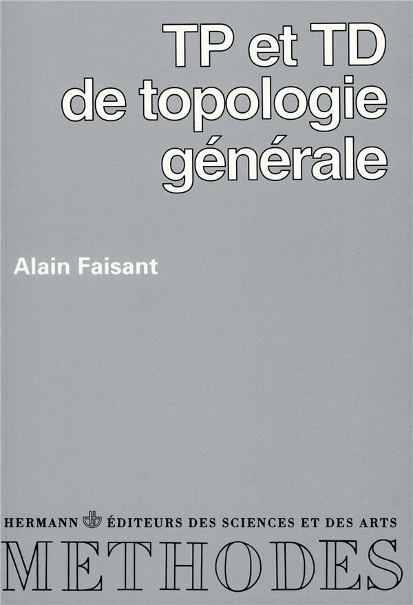 Tp et td de topologie generale