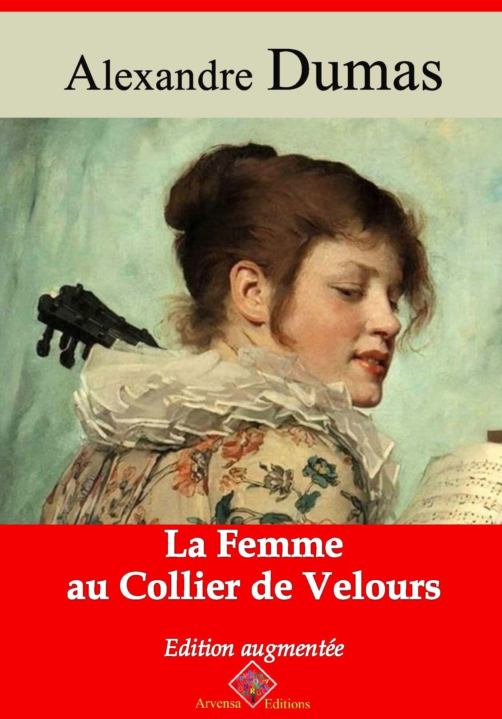 Vente Livre Numérique : La Femme au collier de velours - suivi d'annexes  - Alexandre Dumas