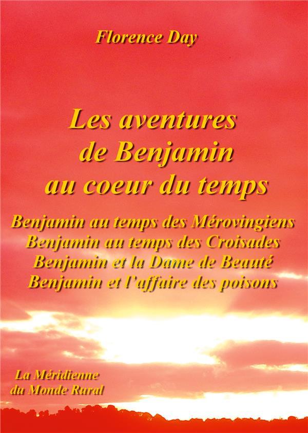 Les aventures de Benjamin au coeur du temps ; Benjamin au temps des Mérovingiens, Benjamin au temps des croisades