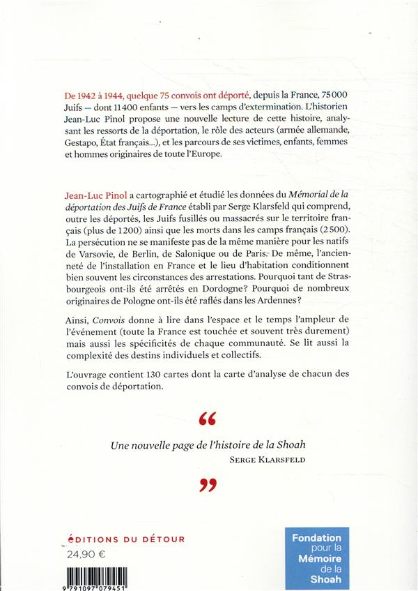convois ; la déportation des Juifs de France