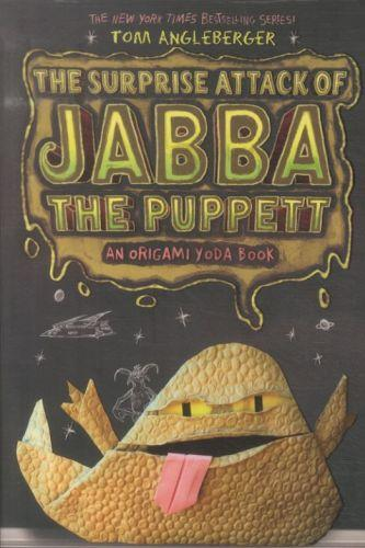 The surprise attack of jabba the puppett: book 4 - an origami yoda book