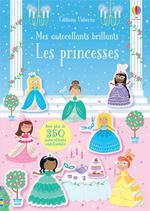 Les princesses ; mes autocollants brillants
