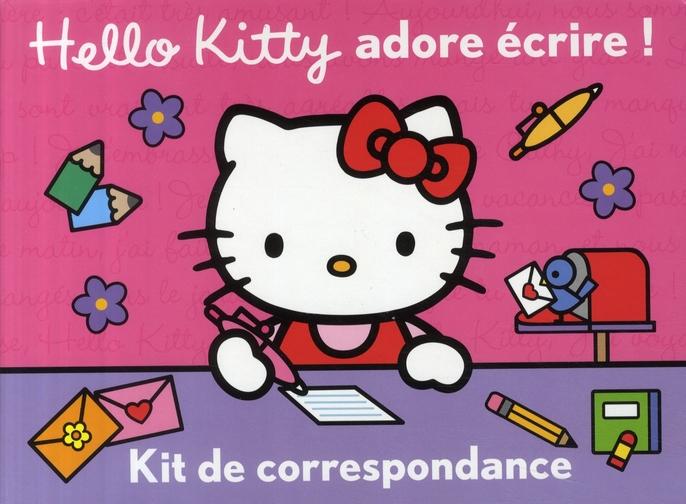 Hello Kitty adore écrire ! kit de correspondance