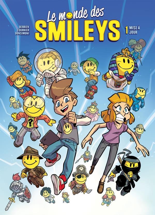 le monde des smileys t.1 ; mise à jour