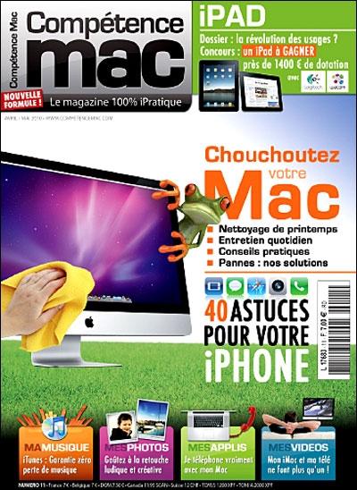 Compétence Mac 11 ; chouchoutez votre Mac
