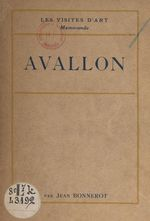 Avallon  - Jean Bonnerot