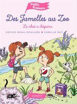 Vente Livre Numérique : Des jumelles au zoo - Le chat a disparu  - Sophie Rigal-Goulard
