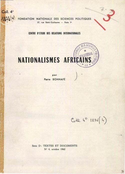 nationalismes africains