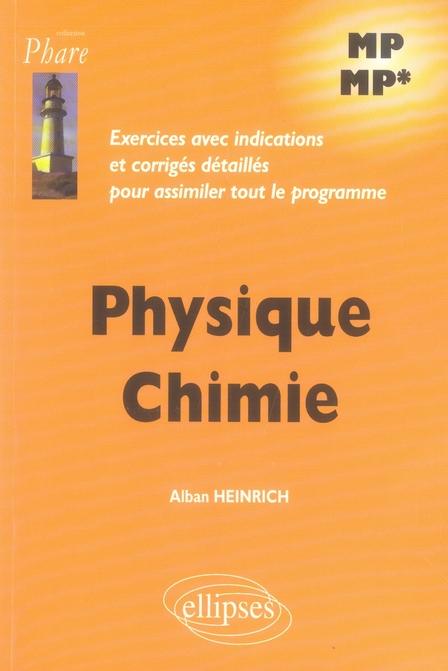 exercices corrigés physique chimie mp-mp
