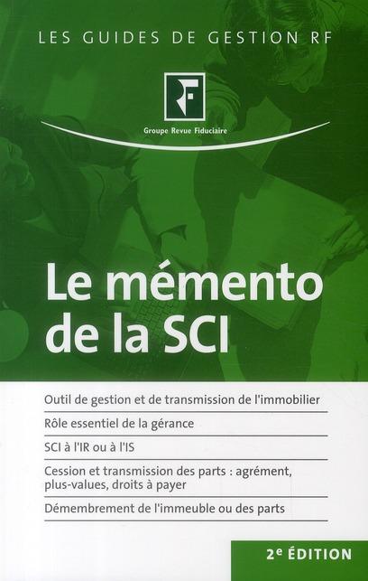 le mémento de la SCI