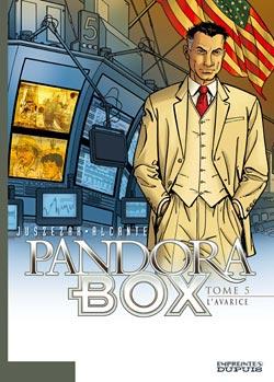 Pandora box T.5 ; l'avarice