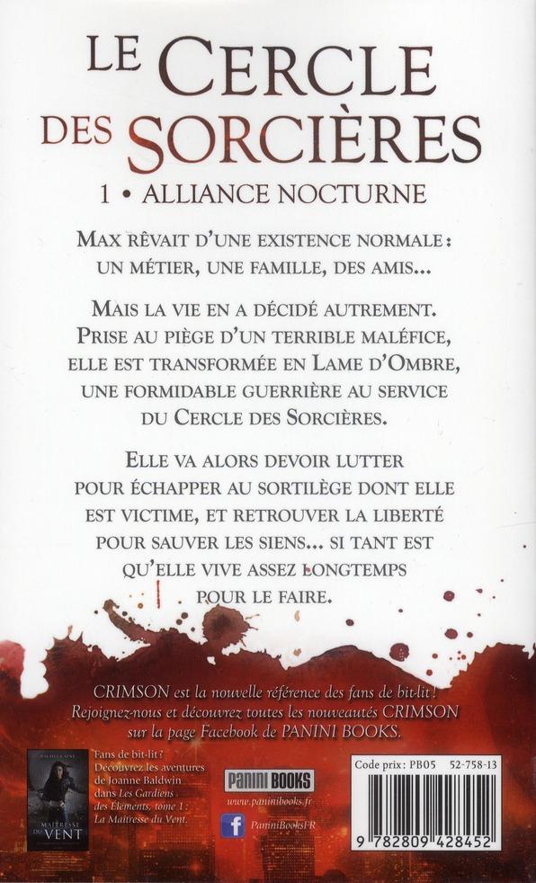 le cercle des sorcières t.1 ; alliance nocturne
