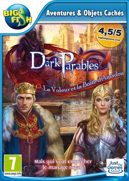 dark parables : le voleur et la boîte d'Amadou