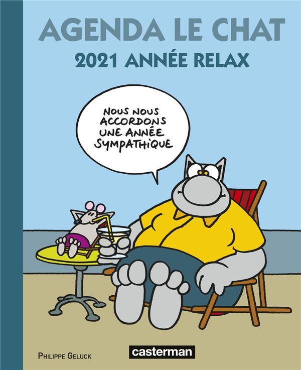 Le chat ; agenda (édition 2021)