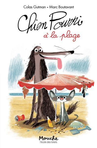 Chien Pourri à la plage