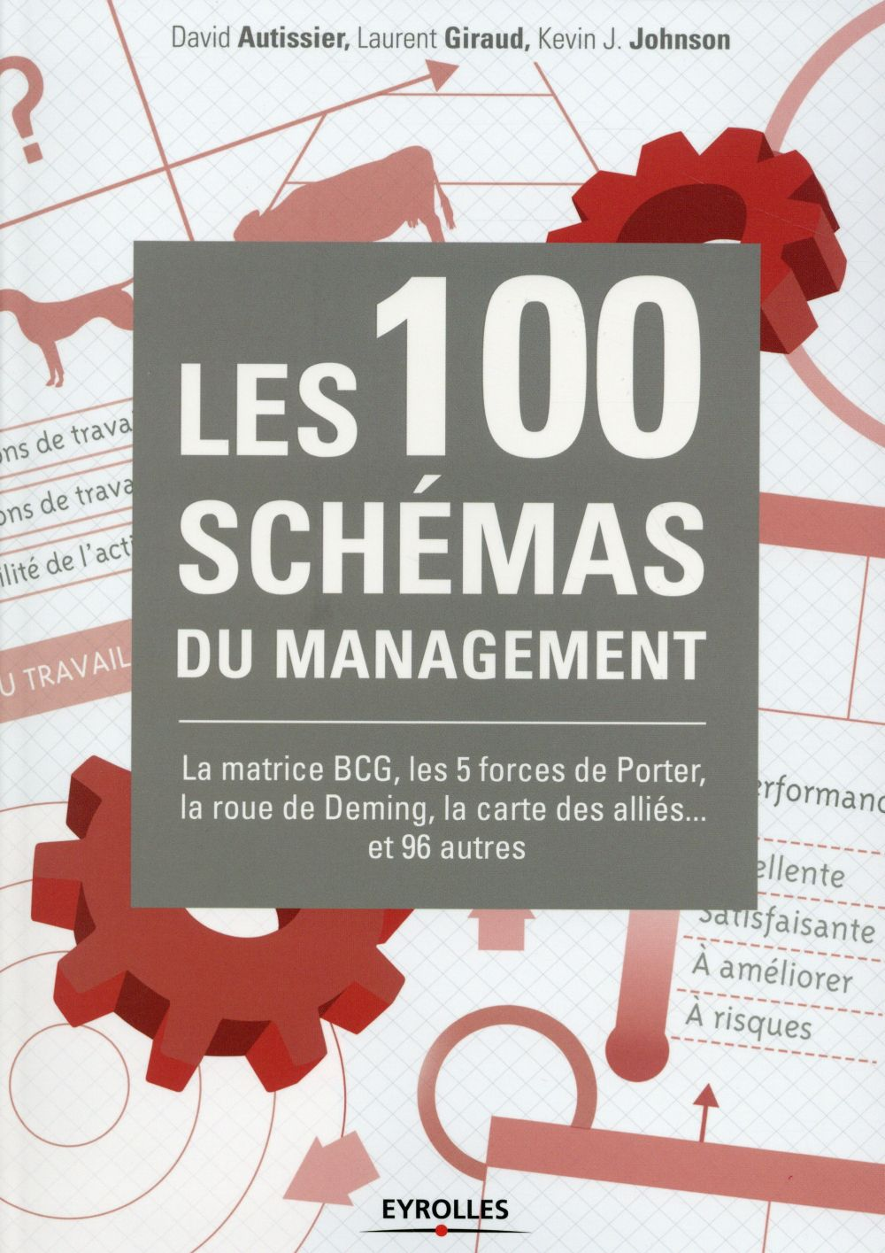LES 100 SCHEMAS DU MANAGEMENT  -  LA MATRICE BCG, LES 5 FORCES DE PORTER, LA ROUE DE DEMING, LA CARTE DES ALLIES... ET 96 AUTERS  GIRAUD, LAURENT