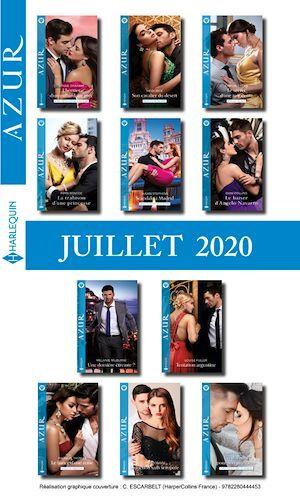 Pack mensuel Azur : 11 romans + 1 gratuit (Juillet 2020)  - . Collectif