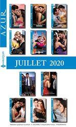 Pack mensuel Azur : 11 romans + 1 gratuit (Juillet 2020)