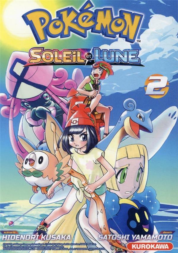 Pokémon ; la grande aventure - Soleil et Lune T.2